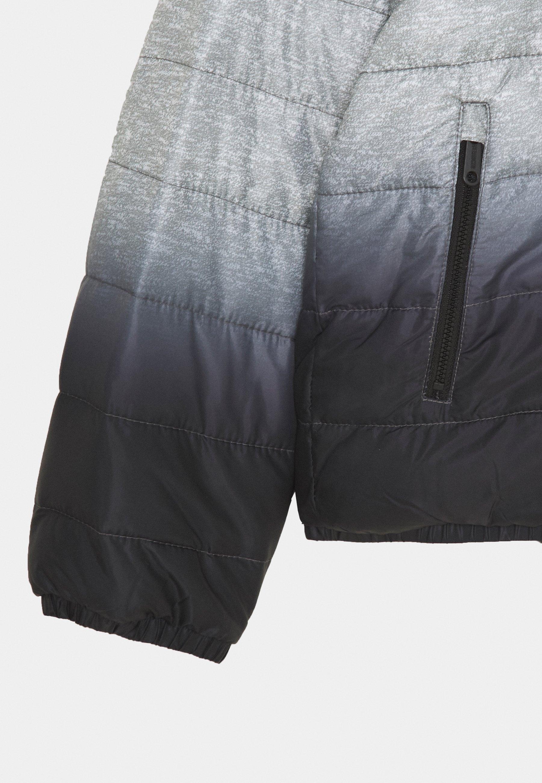 Abercrombie & Fitch Cozy Puffer - Chaqueta De Invierno Grey/black
