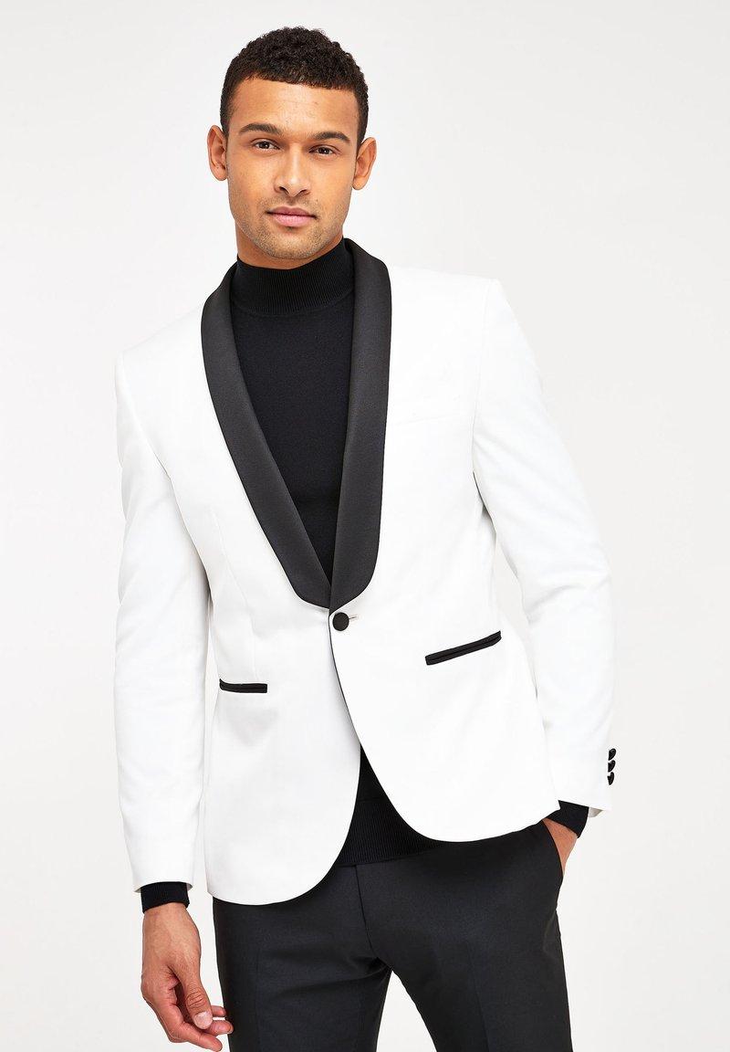 Next - SLIM FIT - Giacca elegante - white