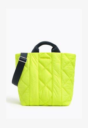 Tote bag - neon green