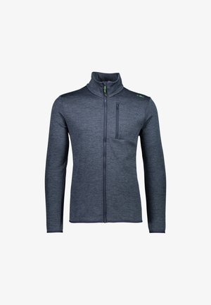 MAN JACKET - Giacca sportiva - black/blue