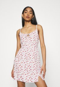 Hollister Co. - BARE DRESS - Kjole - white - 0