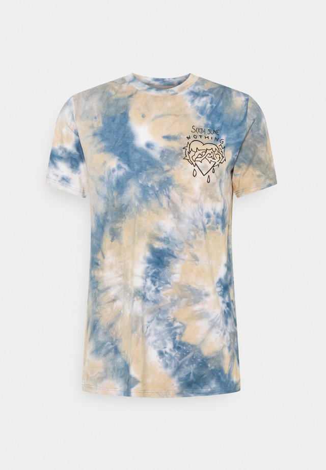 CUSTOM TIE DYE TEE - T-shirt imprimé - oran