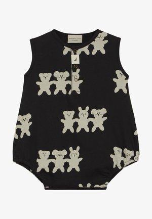 BESTIES BUBBLE ROMPER BABY - Sleep suit - black/white