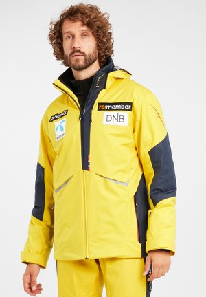 Snowboard jacket - golden yellow mit logos