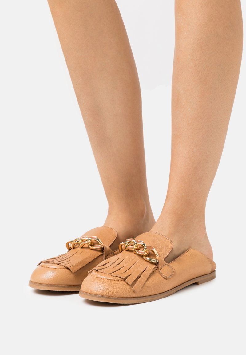 See by Chloé - MAHE FLAT - Slip-ons - light pastelbrown