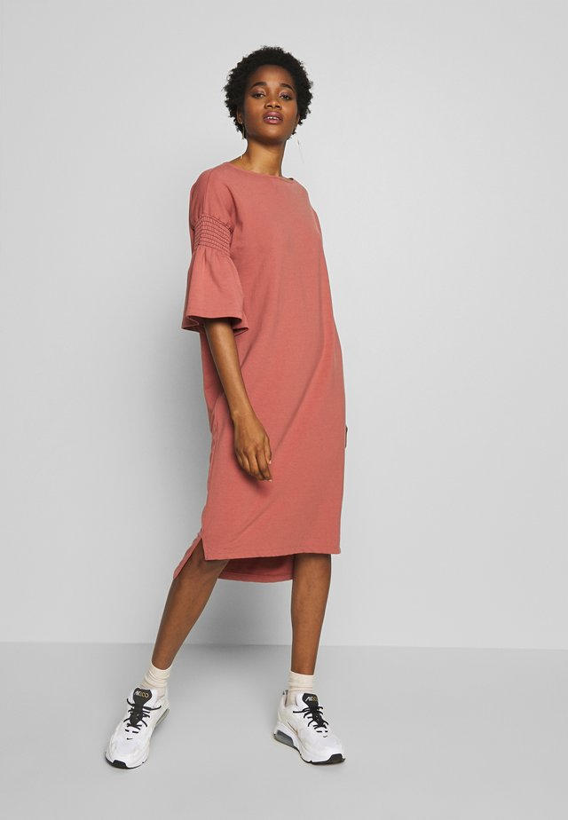 ESTHER DRESS - Day dress - brick dust