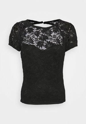 AURORA - Print T-shirt - jet black