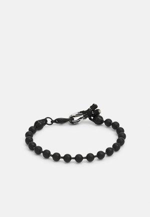 BALL CHAIN LOOP BRACELET - Bracelet - black