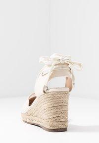 Lulipa London - LORENA - Sandály na vysokém podpatku - cream - 5