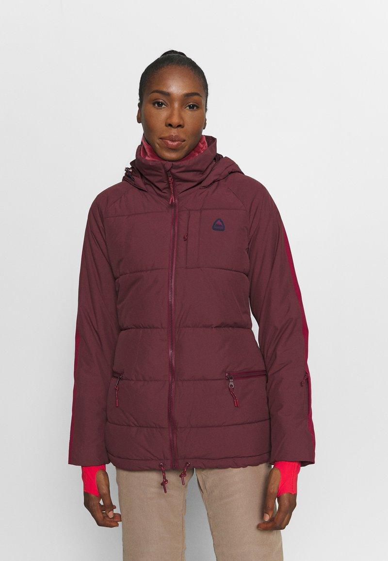 Burton - KEELAN - Snowboard jacket - dark red