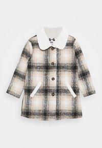 Cotton On - ARLO CHECK JACKET - Wintermantel - black /vanilla - 0