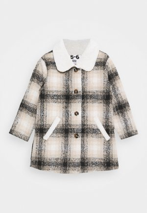 ARLO CHECK JACKET - Winter coat - black /vanilla