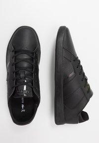 Lacoste - NOVAS - Sneakersy niskie - black - 1
