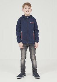 ZIGZAG - Zip-up hoodie - 2048 navy blazer - 1