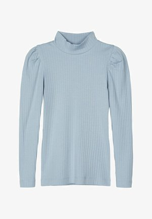 Long sleeved top - dusty blue