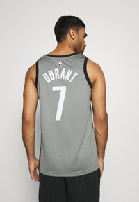 Nike Performance - NBA BROOKLYN NETS SWINGMAN JERSEY - Equipación de clubes - dark steel grey/black - 2