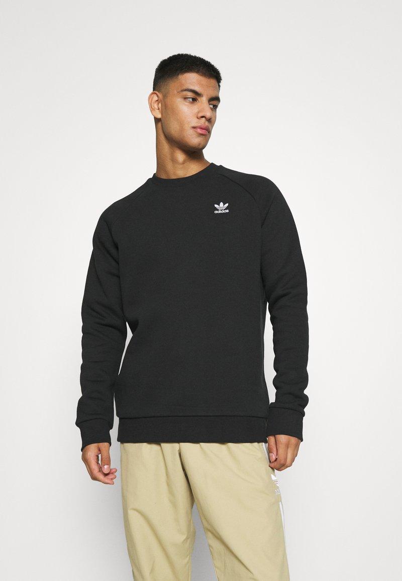 adidas Originals - ESSENTIAL CREW - Sudadera - black
