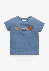 Next - 2 PACK  - T-shirt con stampa - blue - 1