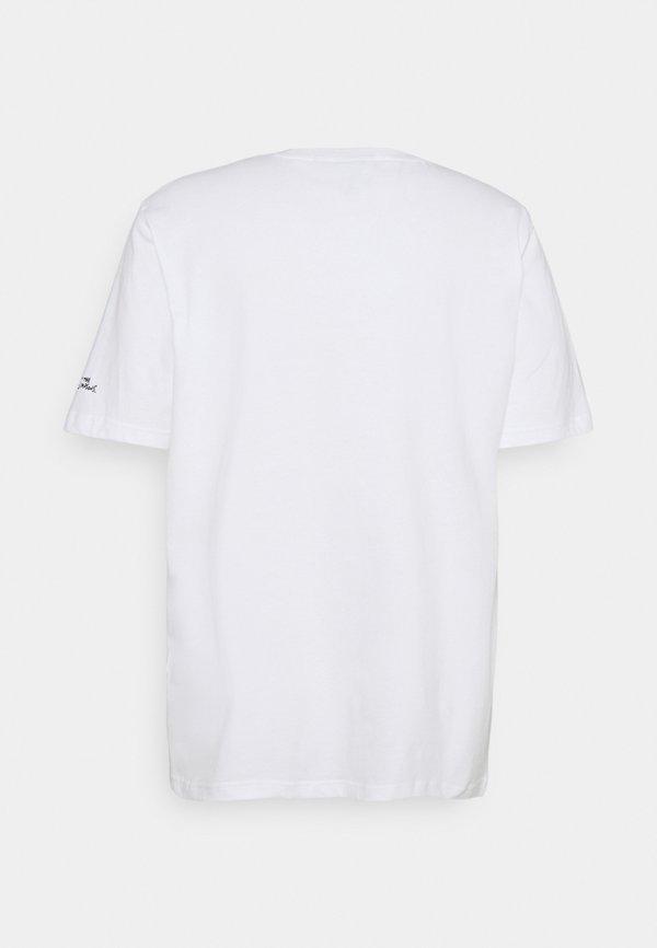 adidas Originals THE SIMPSONS KRUSTY BURGER - T-shirt z nadrukiem - white/biały Odzież Męska IKQK