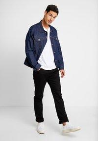 CELIO - NO CLEAN - Straight leg jeans - black - 1