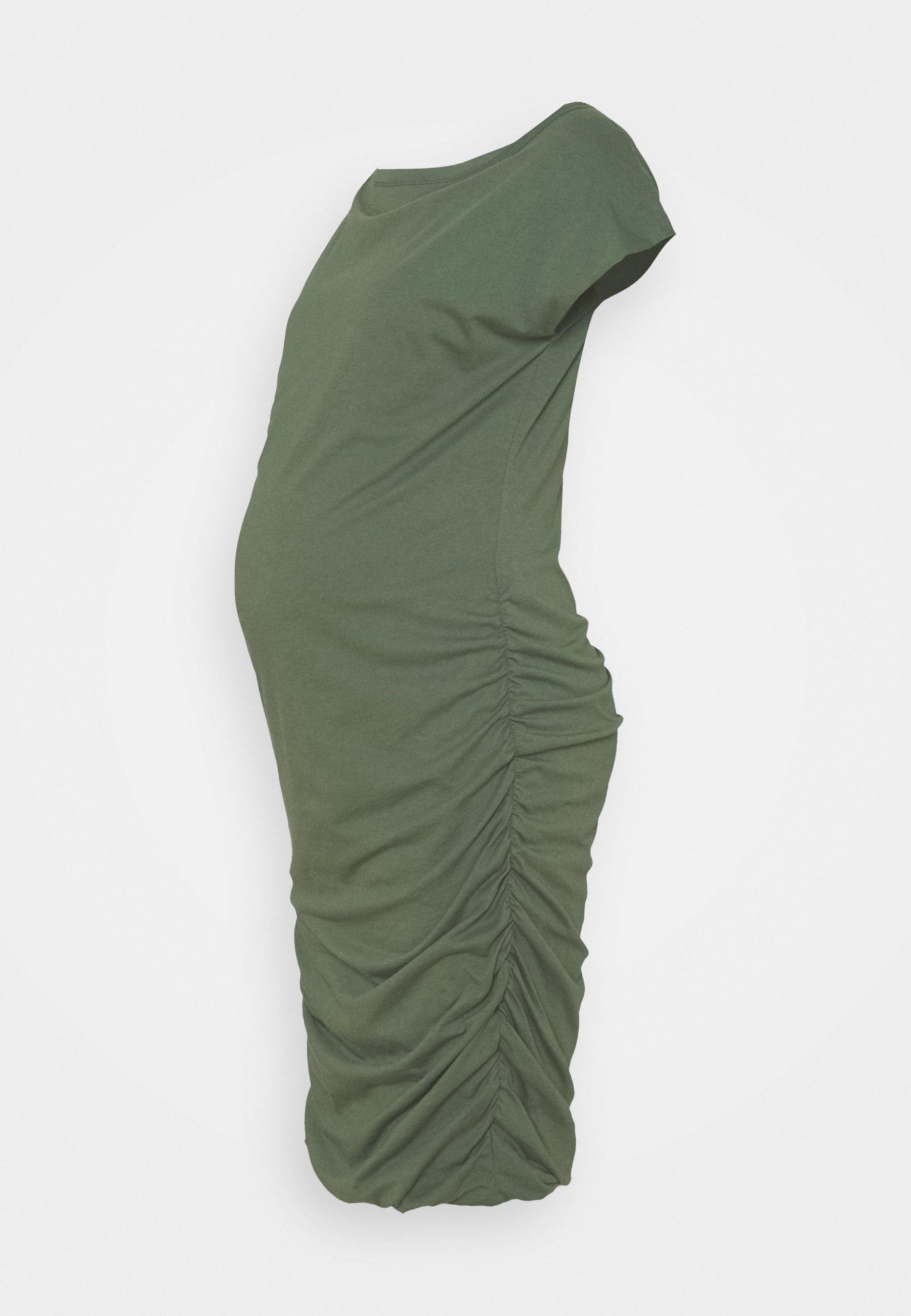 Women SHIRRED - Jersey dress
