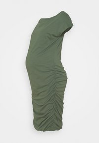 GAP Maternity - SHIRRED - Jerseyjurk - cool olive - 0