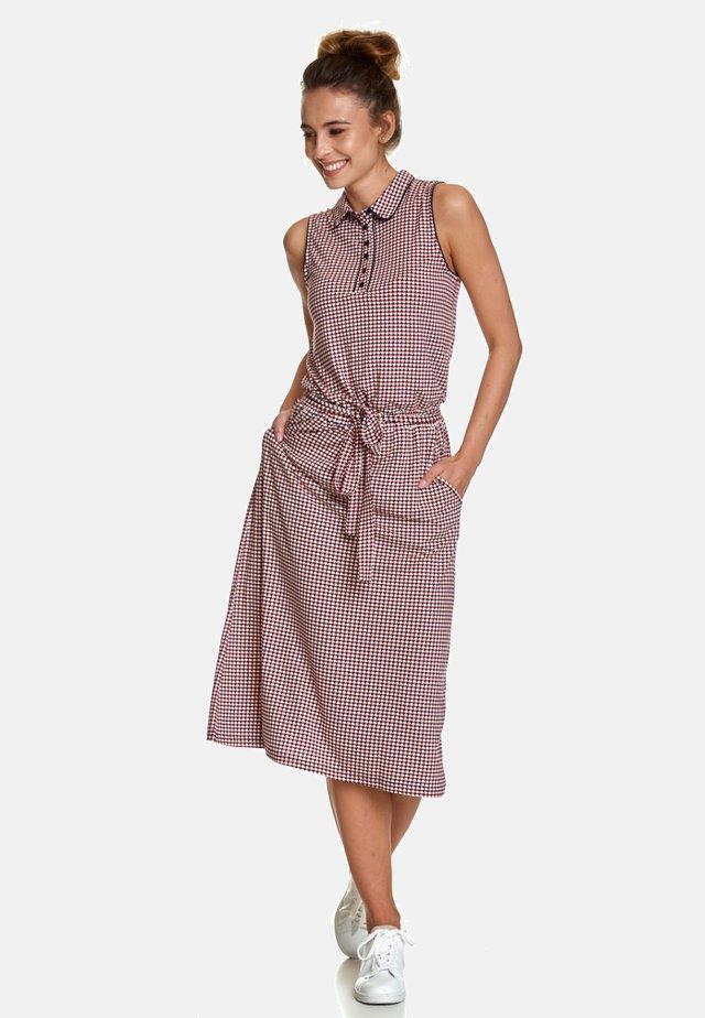 JERSEYKLEID APRÈS-MIDI DRESS - Jersey dress - rot
