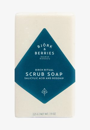 BARTPFLEGE EXFOLIATING BATH SOAP - Soap bar - -