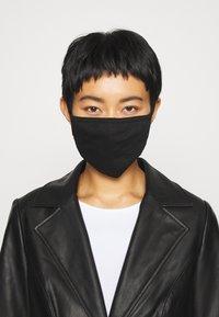 Icon Brand - COMMUNITY MASK - Masque en tissu - black - 1