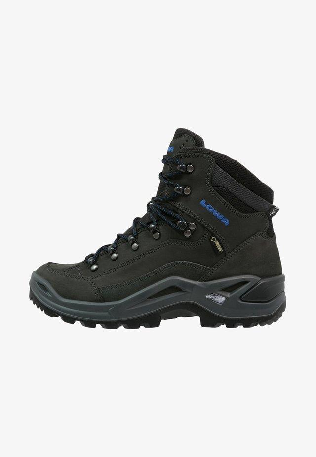 RENEGADE GTX MID - Hiking shoes - anthrazit/blau