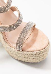 BEBO - TWINKLE - Sandaler med høye hæler - nude - 2