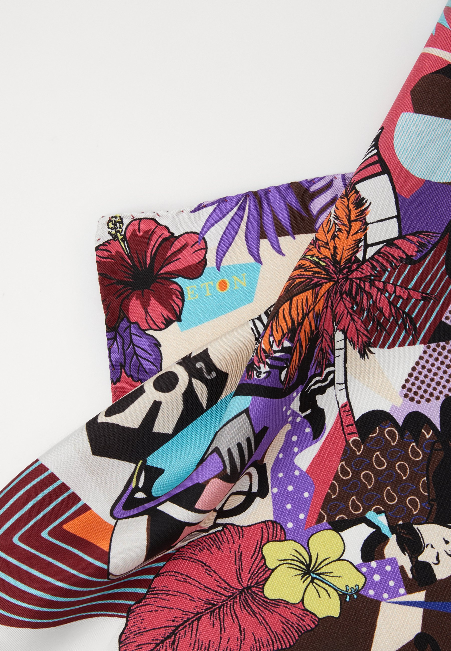 Eton VIBRANT MUSIC POCKET SQUARE - Lommetørkle - multi-coloured/flerfarget GwQ9rb85r8u9LHE