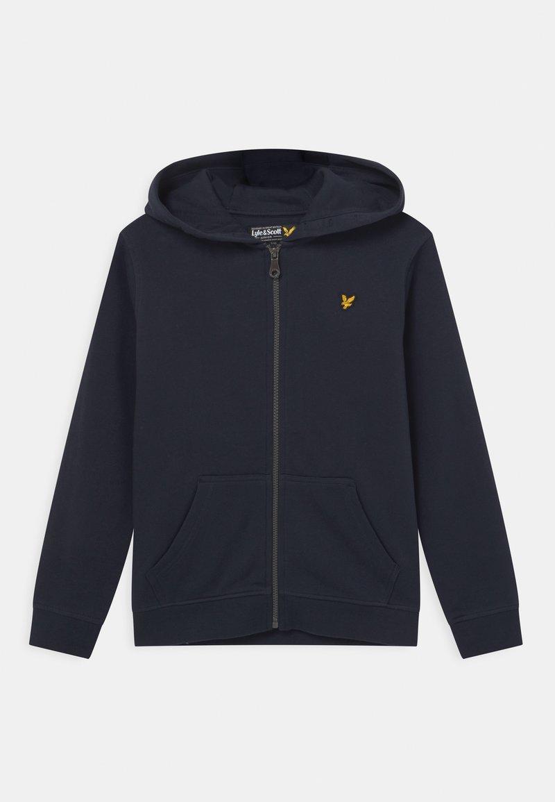 Lyle & Scott - CLASSIC ZIP - Zip-up hoodie - navy blazer