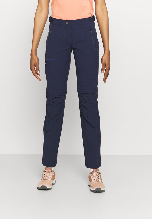WOMENS FARLEY STRETCH ZIP PANTS - Stoffhose - eclipse