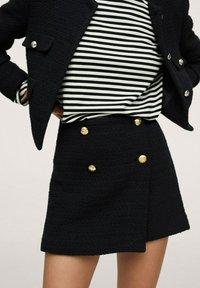 Mango - WINTOUR - A-line skirt - zwart - 0
