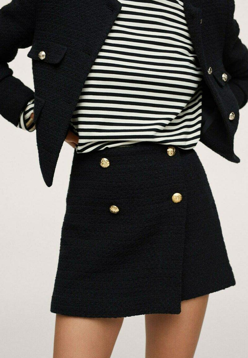 Mango - WINTOUR - A-line skirt - zwart