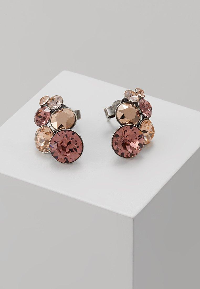 Konplott - PETIT GLAMOUR - Earrings - beige/pink