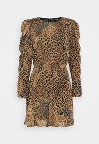 The Kooples - ROBE - Day dress - brown - 0