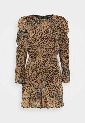 ROBE - Day dress - brown