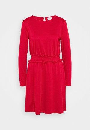 VITINNY WAIST DETAIL DRESS CAMP - Day dress - jester red