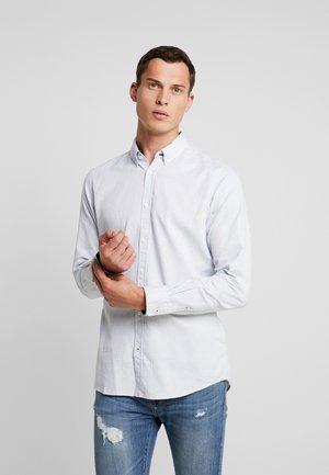 FLOYD PINPOINT DOBBY - Shirt - white/blue/burgundy