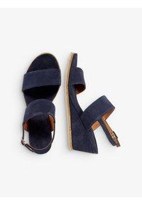 Bianco - Wedge sandals - navyblue - 2