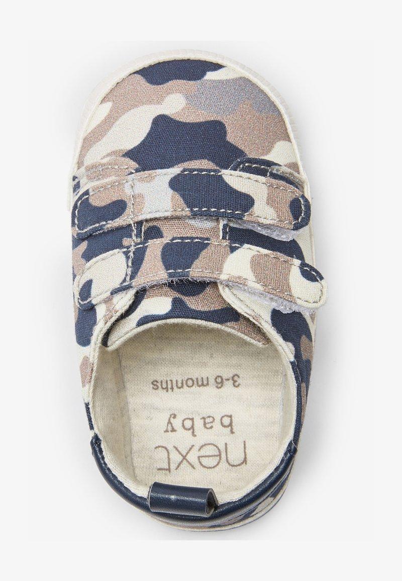 Next - Touch-strap shoes - blue/beige