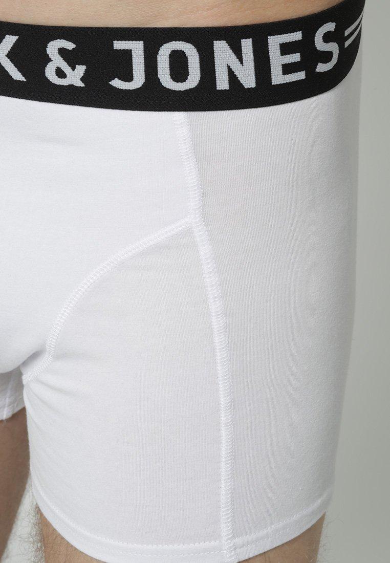 Jack & Jones TRUNKS 3 PACK - Panties - white/weiß eC8ImN