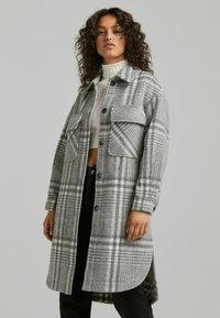 Bershka - Classic coat - grey - 0