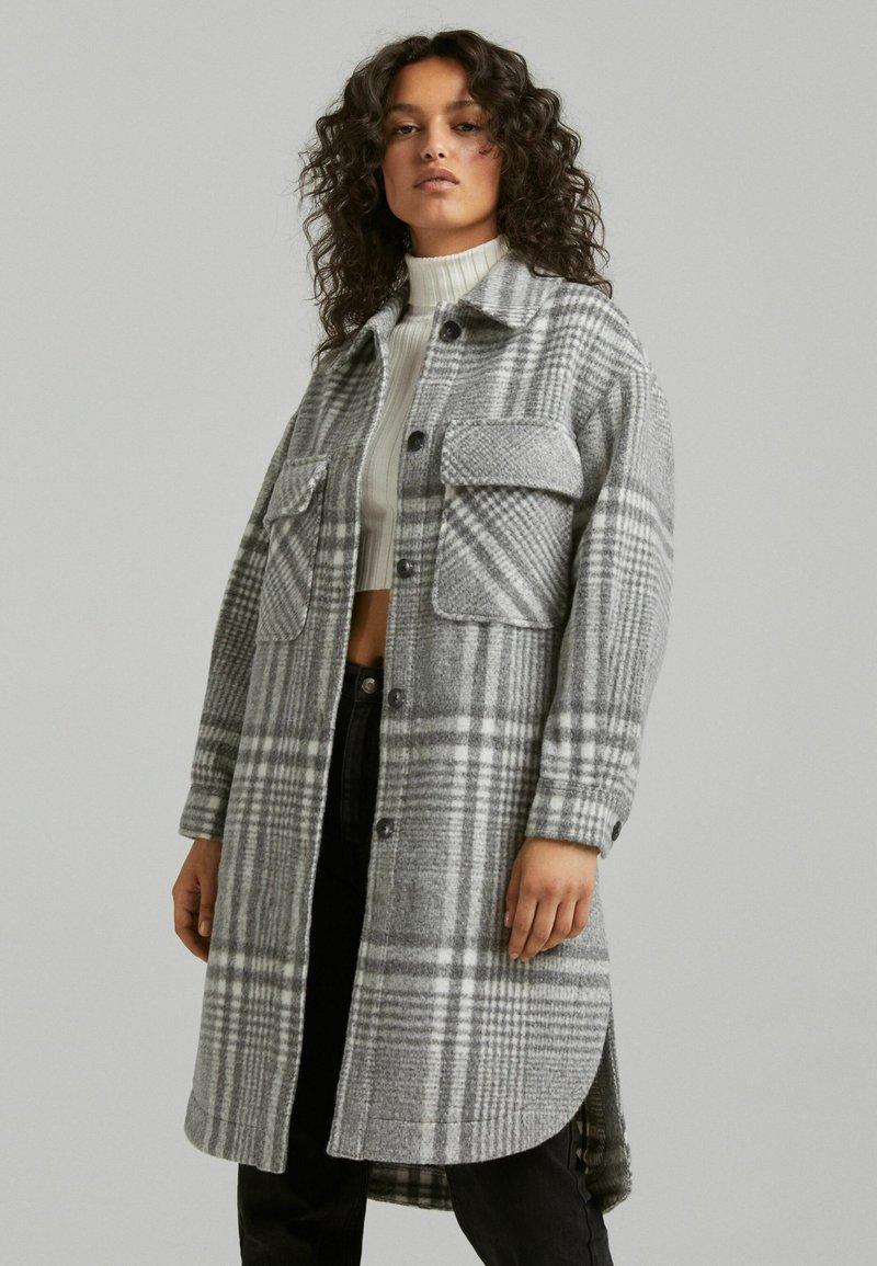 Bershka - Classic coat - grey
