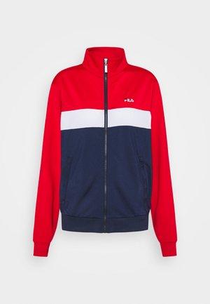 ELERI TRACK JACKET - Training jacket - black iris/true red/bright white