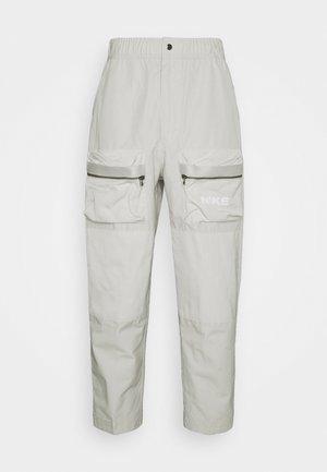CITY MADE PANT - Cargo trousers - light bone/black/white
