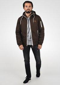 Solid - TILLY - Light jacket - dark brown - 1