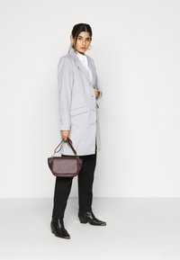 VILA PETITE - VILEOVITA COAT - Classic coat - light grey melange - 1